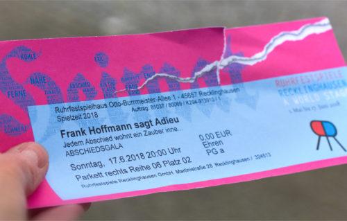 Adieu Frank Hoffmann!