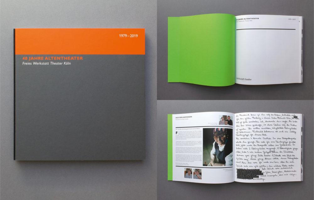 Umschlag, Vorsatzpapier und erste Seite